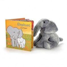 Jellycat Book - Elephant Book