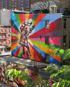 Highline Mural by Eduardo Kobra