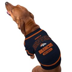 Amazon.com   Pets First NFL Denver Broncos T-Shirt 6f554f893