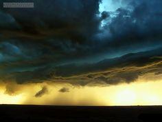Dusk - Amazing scenery of clouded sky at dusk