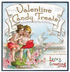 Vintage Victorian Valentine Candy