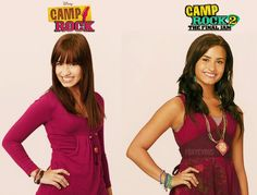 Mitchie from Camp rock and Mitchie from Camp rock 2 Demi Lovato, Old Disney Channel, Disney Channel Movies, Disney Movies, Throwback Day, Old Disney Shows, Imagine Song, Camp Rock, Joe Jonas