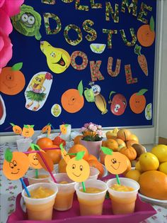 Ramadan Decorations, Birthday Decorations, Fruit Crafts, Diy And Crafts, Crafts For Kids, Art Programs, Cooking Classes, Kids Education, Pre School