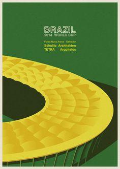 Brazil 2014 World Cup Stadiums