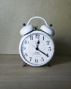 Jerger Drumbo Alarm Sveglia bianco di BididiVintage su Etsy, €21.00