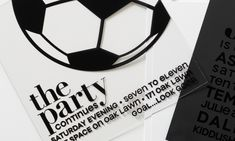 Red Bar, Oak Lawn, Modern Materials, Soccer Ball, Bar Mitzvah, Invitation, Black White, Plastic, Traditional