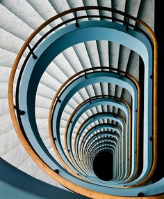 Neat design ... both image as well as staircase!