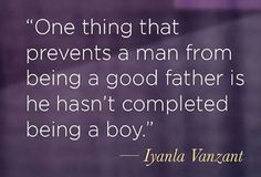 ~ Wow...deep...to be a good father one must grow up. :) I am blessed, with what I see & have...