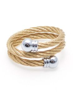 Have a Ball Twist Ring in Gold with Silver Accents Gold Toe Rings, Gold And Silver Bracelets, Mens Silver Necklace, Engraved Necklace, Engraved Rings, Silver Hoop Earrings, Bracelets For Men, Silver Necklaces, Twist Ring