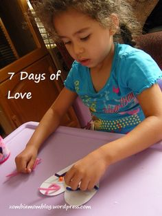 Tinfoil Heart craft for Valentine's Day