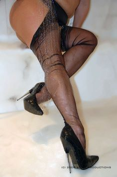 Here stockings extreme heels apologise, can
