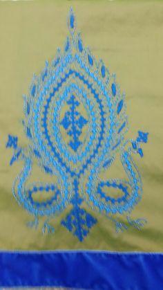KUTCH WORK SAREE-Sarees-AARABI COUTURE