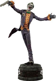 DC Comics Joker Arkham Asylum Premium Format(TM) Figure by S   Sideshow Collectibles