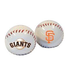 San Francisco Giants Baseball Salt & Pepper Shakers