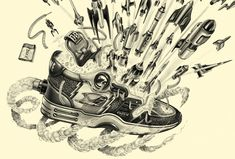 Sneaker freaker campaign, ordered by  BBDO agency