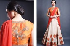 Beauty lies in details; A colorful embroidered #wedding #lehenga..Beautiful #Indian bridal collection