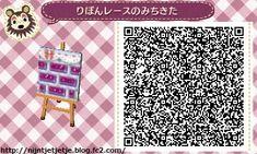 ☆ribbon and lace Purple path ☆ TILE#12