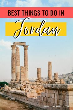 One week itinerary to Jordan - a complete guide to visiting everything Amman, Petra, the Dead Sea, camping Wadi Rum & a ton of tips on getting around Jordan. Cool Places To Visit, Places To Travel, Amazing Destinations, Travel Destinations, Travel Guides, Travel Tips, Jordan Travel, Asia Travel, Mexico Travel