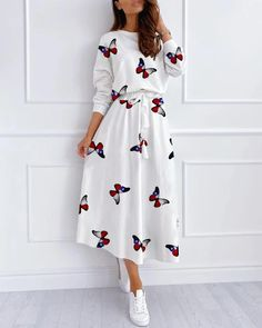 Elegant Summer Outfits, Cute Modest Outfits, Casual Dress Outfits, Summer Dress Outfits, Modest Dresses, Stylish Dresses, Simple Dresses, Pretty Outfits, Stylish Outfits