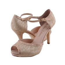 Women's Shoes Blossom Vice 46 Embellished Platform Pumps Nude Lace - Google Search