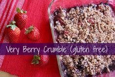 Very Berry Crumble (gluten free)