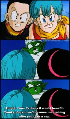 If Goku and Vegeta couldn't win these battles. Piccolo knew when he was beat. #SonGokuKakarot