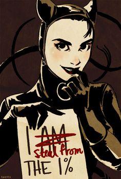 Catwoman by Sairobi <3