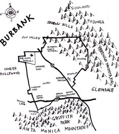Ink map of Burbank http://www.amoeba.com/blog/2010/07/eric-s-blog/burbank-a-city-built-by-people-pride-and-progress.html