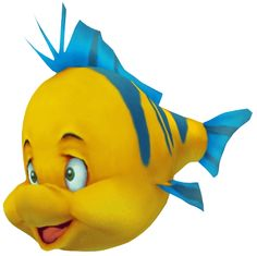 little mermaid characters flounder - Google Search