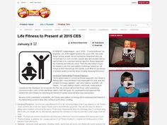 Life Fitness to Present at 2015 CES
