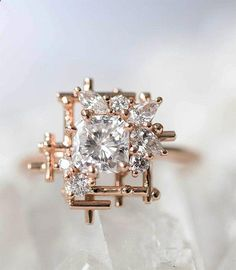 How Are Vintage Diamond Engagement Rings Not The Same As Modern Rings? If you're deciding from a vintage or modern diamond engagement ring, there's a great deal to consider. Engagement Rings Sale, Cushion Cut Engagement Ring, Princess Cut Engagement Rings, Beautiful Engagement Rings, Vintage Engagement Rings, Diamond Engagement Rings, Princess Wedding, Oval Engagement, Princess Rings