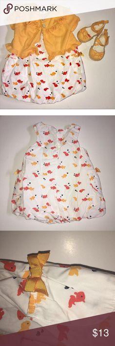 Crazy 8 white dress 6t