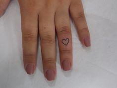 Coração Dedo