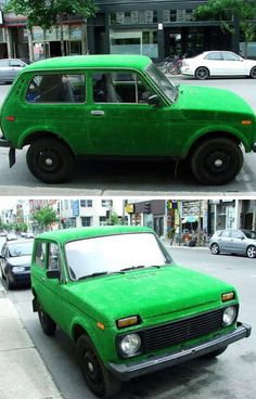 10 Most Amazing Grass - Covered Cars (amazing grass) - ODDEE