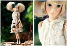 PW-momoko ae <こぐま座> 女王猫と鹿の姫