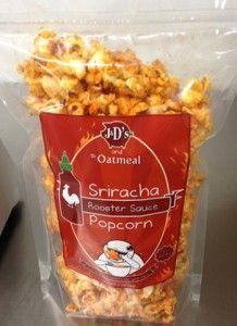 Sriracha on…. Popcorn?