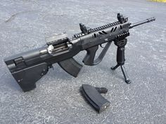 NC/SC Norinco SKS Bullpup 7.62x39.  This actually looks like a really cool varient of the SKS... Too bad we can't legally do this modification in Canada :(