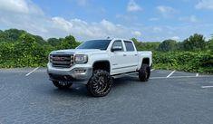"🔥 16 GMC 1500 7"" Kit 🔥 24x12 TIS 544BM Gloss Black Milled • 35x12.50-24 Gladiator X-Comp MT • Road Runner Wheels & Tires 1585 Roswell Road Marietta, Ga 30062 Tel: 866-967-8126 • #RoadRunnerWheels #GetLifted #Atlanta #AtL #wheelsandtires #gmc #gladiotors #mttires35s #tires #sierra1500 #roughcountry #tiswheels #liftedsierra #544bm"