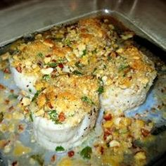 Pecan Baked Scallops Allrecipes.com