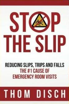 Award Winning Book Stop The Slip Sheds Light on Fall Prevention - Author Thom Disch was awarded silver seal from the Nonfiction Authors Association.