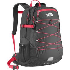 The North Face Borealis Backpack - Women's - 1526cu in Rocket�red/Asphalt Grey