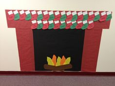 Our hallway display! Cute bulletin board idea