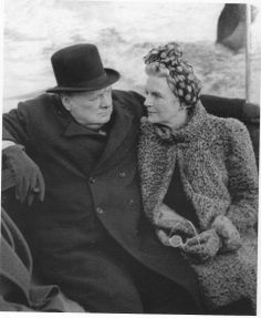 ♥ Clementine & Winston Churchill