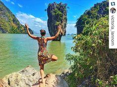 #Repost @victoria_lannom at the James Bond Island in Phuket Thailand  Isla de James Bond en Phuket Tailandia.  #iamtb #travelblogger #phuket #tailandia #thailand #beach #playa #relax #relaxing #travel #viaje #viajar #instatravel #travelgram #mytravelgram #wanderlustb #landscapes #traveler #travelling #water #sea by travelbloggeres