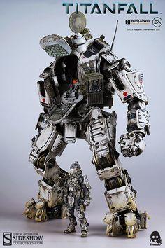 Titanfall Atlas - Titanfall Collectible Figure by Threezero Robot Militar, Cyberpunk, Arte Gundam, Science Fiction, Arte Robot, Mekka, Lego, Sci Fi Armor, Robot Concept Art
