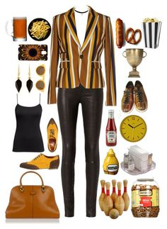 """Bowling?  Sure, let's go!"" by paperdollsq ❤ liked on Polyvore featuring rag & bone, Dsquared2, 1,618, Tod's, H&M, CÉLINE, Isabel Marant, Samsung, LSA International and Wild & Wolf"