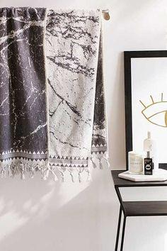 Marble Reversible Bath Towel