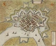 Map of Dutch Fortified City