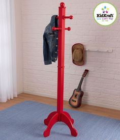 Deluxe Clothes Pole - Red (19259)