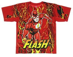 The FLASH Hero FASTER THAN YOU Licensed BOYS /& GIRLS T-Shirt S-XL